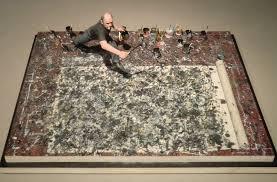 Pollock Richter at work