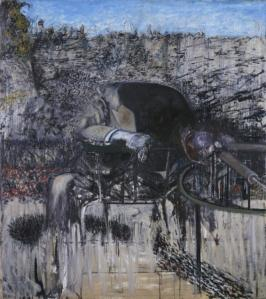 Figure in a Landscape 1945 Francis Bacon 1909-1992 Purchased 1950 http://www.tate.org.uk/art/work/N05941